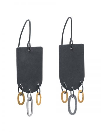 Maru Shikaku Hook Earrings