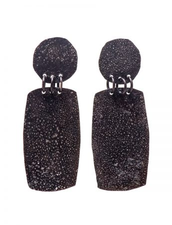 Moonscape Earrings - Rectangle