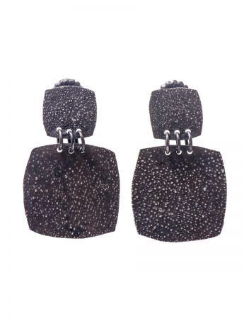 Moonscape Earrings - Square