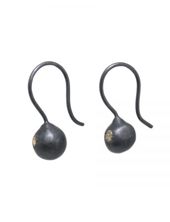Neru Ball Diamond Earrings