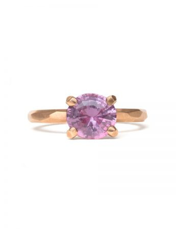 Apple Blossom Ring - Pink Sapphire