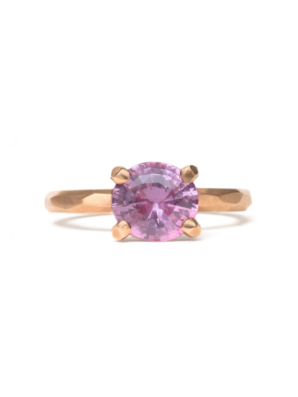 Apple Blossom Ring – Pink Sapphire