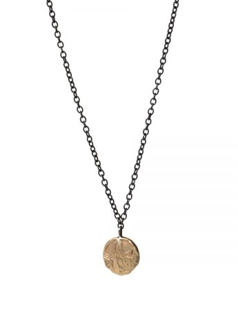 Daisy Fragment Necklace - Gold