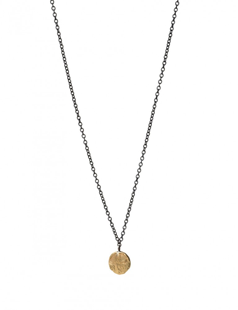 Daisy Fragment Necklace – Gold
