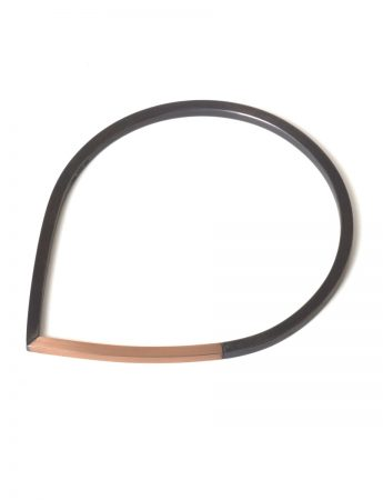 Descend Bangle – Rose Gold & Black