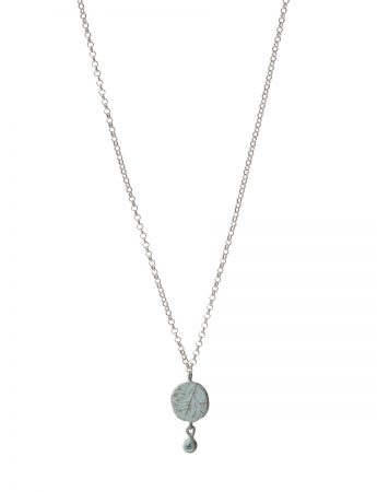 Topaz Fragment Necklace - Duck Egg Blue