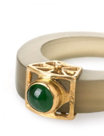 Emerald Dreamweaver Ring