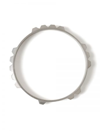 Enigma Bangle – Silver