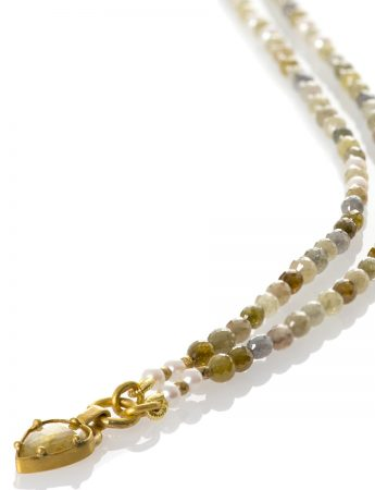 Yellow Diamond Empire Necklace