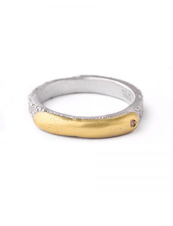 Inimitable Ring 02 - Champagne Diamond