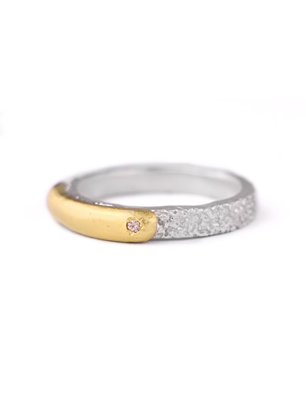 Inimitable Ring 02 – Champagne Diamond