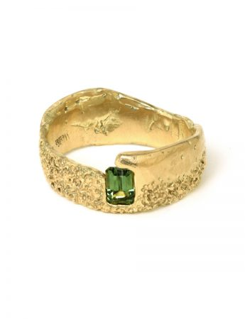 Lost and Found Ring - Green Sapphire