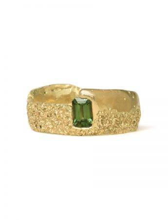 Lost and Found Ring – Green Sapphire