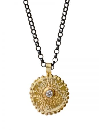 Star Necklace - Gold & Diamond