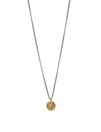 Star Necklace – Gold & Diamond