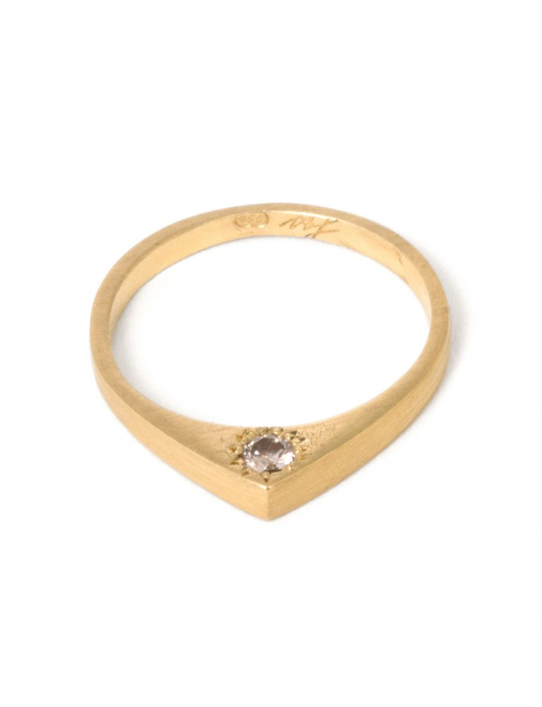Togetherness Ring – Gold & Diamond