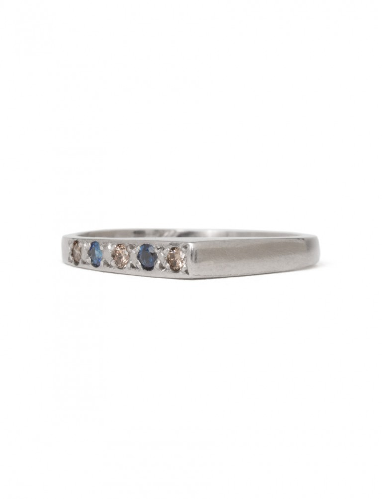 Togetherness Ring – Sapphire & Diamond