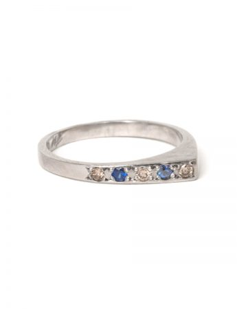 Togetherness Ring - Sapphire & Diamond