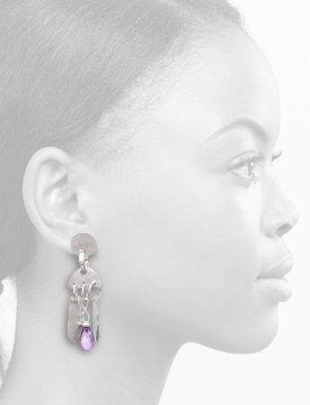 Amethistos Earrings