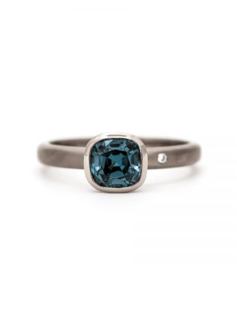 Cloudburst Ring - Spinel & Diamond
