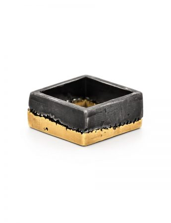 Microlith 11 Ring - Black & Gold