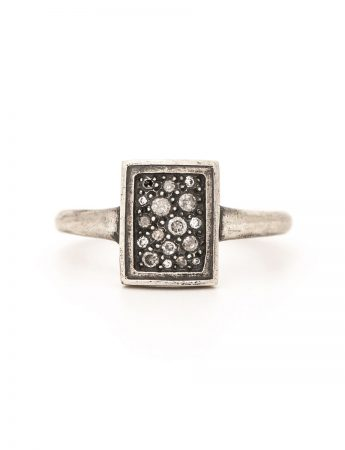 Tych 17 Ring – Silver & Diamond