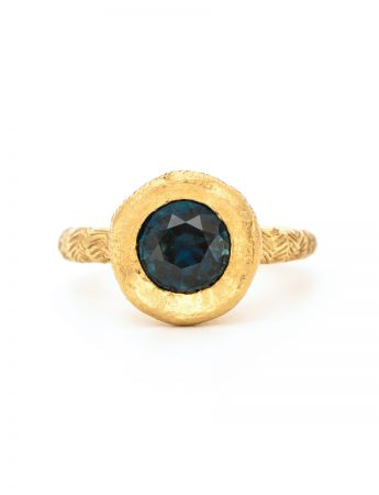 Golden Ring - Parti Sapphire