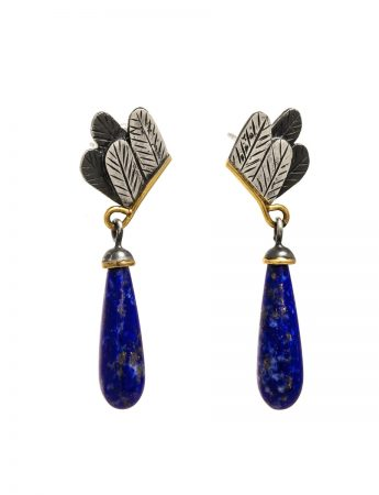 'Ba Bird' Earrings - Lapis Lazuli