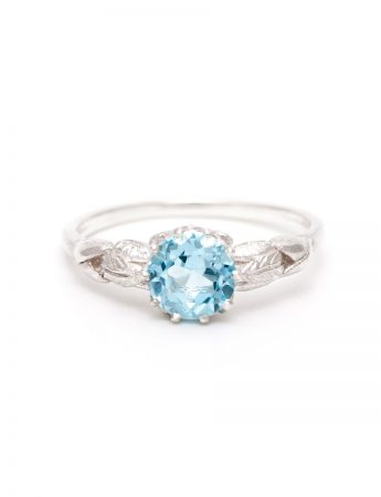 Silver Juliette Ring - Topaz