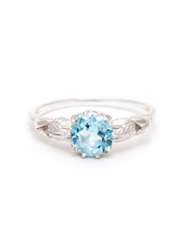 Silver Juliette Ring – Topaz