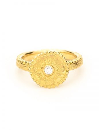 Stargazer Ring - Yellow Gold & Diamond