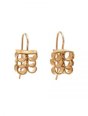 Tablet Earrings - Gold