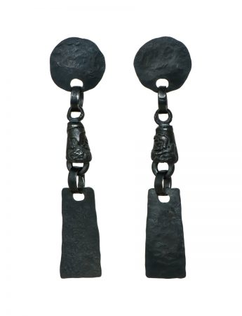 Erato Earrings – Black