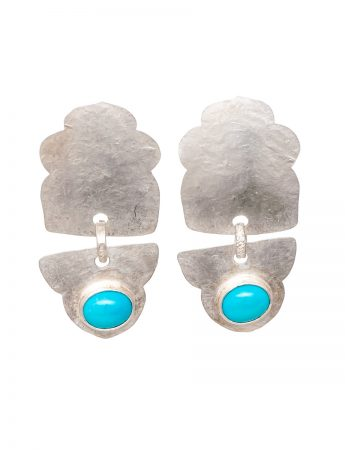 Fountain Earrings - Turquoise