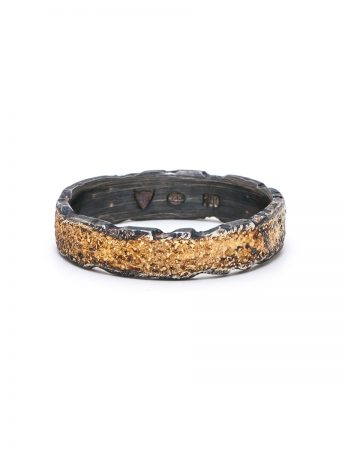 Golden Earth Ring - Black & Gold