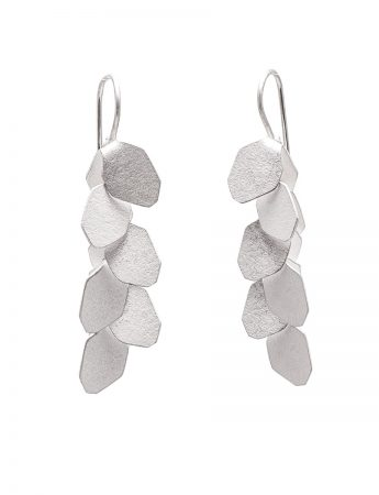 Wisteria 6 Drop Earrings - Silver