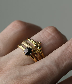New ring collection from Jeanette Dyke