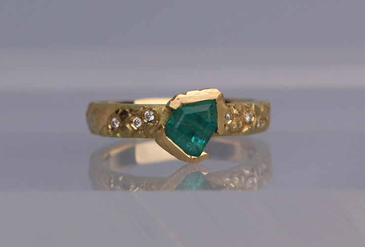 Georgie Brooks - Torrington Emerald Ring - Journal