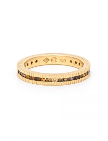 Autumn Ring - Gold & Diamonds