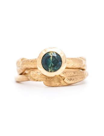 Bird of Paradise & the Butterfly Ring