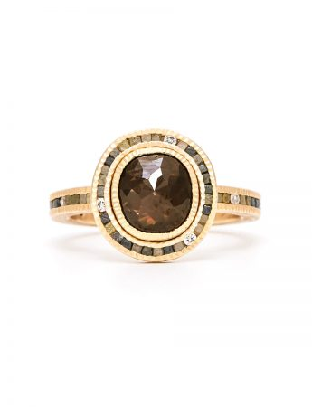 Empress Diamond Ring - Rose Gold