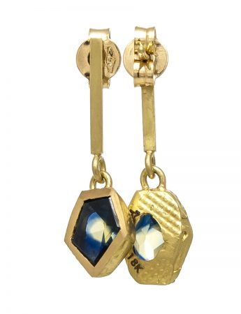 Textura Free-form Sapphire Earrings