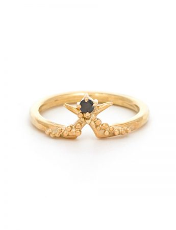 Tusk Ring - Black Diamond