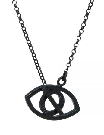 Eye Necklace - Black
