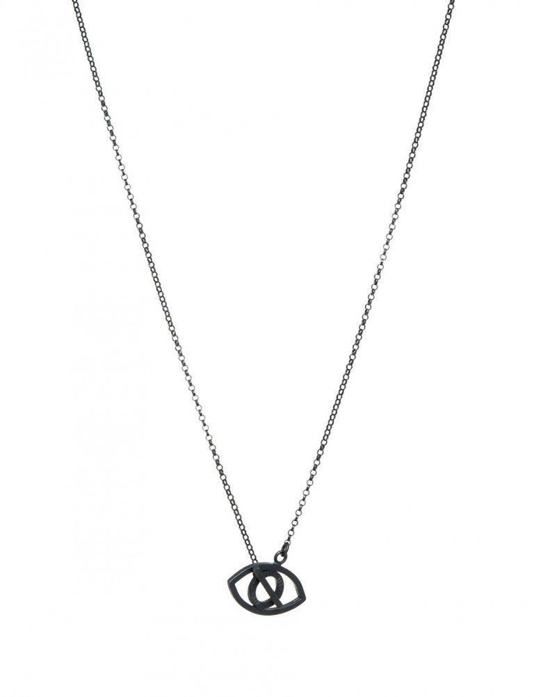 Eye Necklace – Black