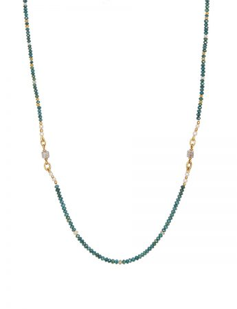 Blue Diamond Necklace