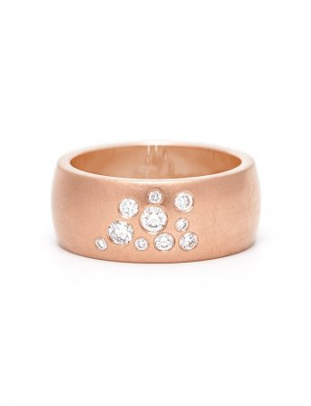 Diamond Dew Ring - Rose Gold