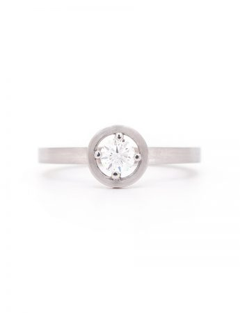 Drift Ring - Platinum & Diamond