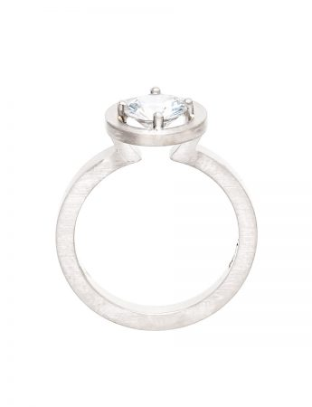 Drift Ring – Platinum & Diamond