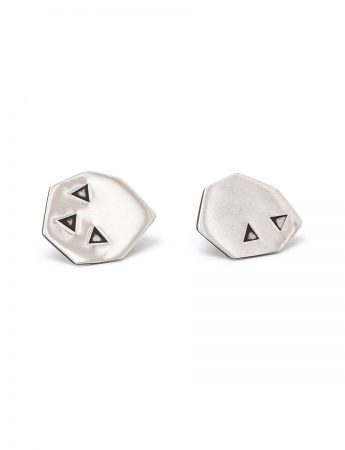 Lucky Seven Stud Earrings - Silver